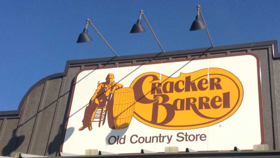 Cracker Barrel sign
