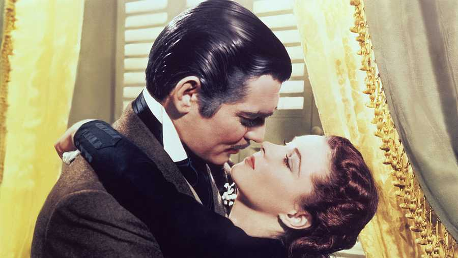 On the set of Gone with the Wind