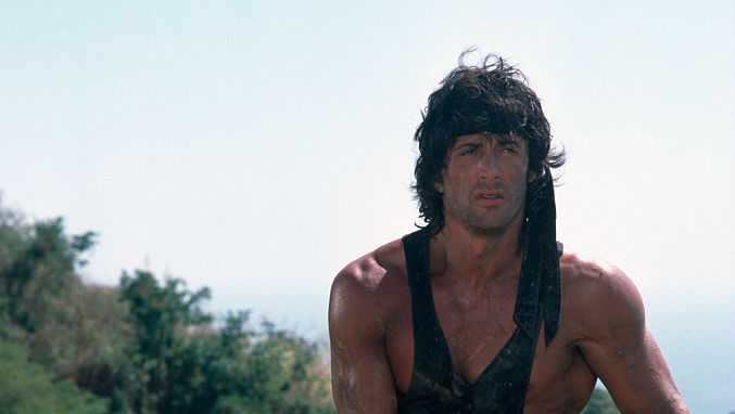 On the Set of Rambo: First Blood Part II
