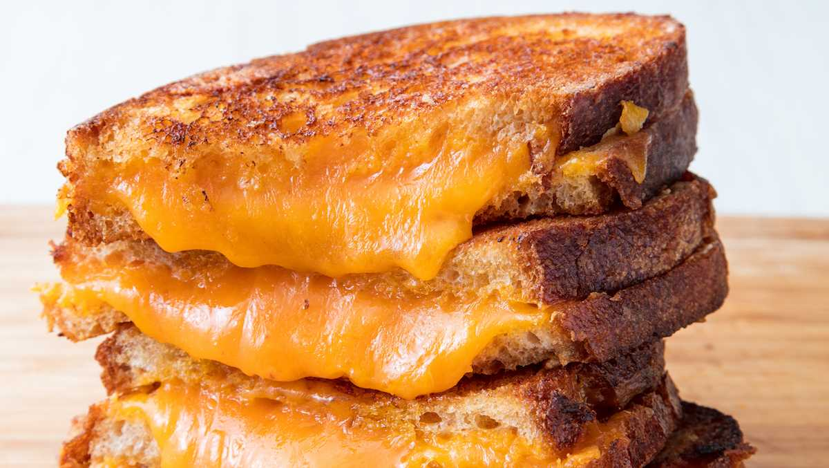 All the cheeses that work best for grilled cheese sandwiches