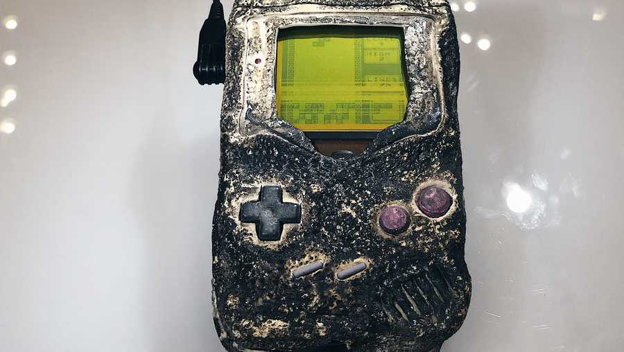 Game Boy survived bombing