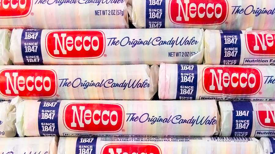 necco wafers candies