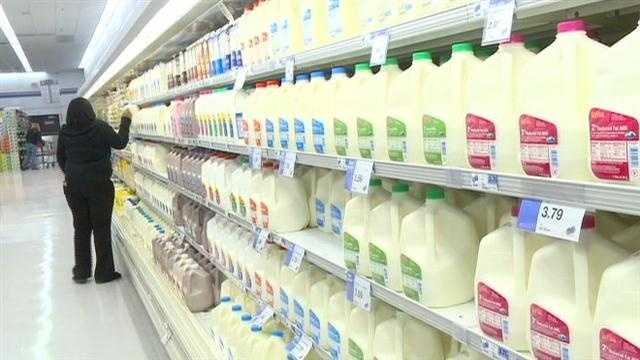 Food prices from milk to beef to veggies are expected to increase in price due mainly to the ongoing drought.