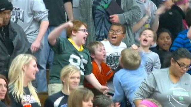 A giant clash between smaller schools highlighted a wild night on the Central Iowa hardwood