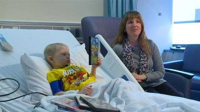 An Iowa couple who won a $202 million jackpot last fall is helping children with cancer.