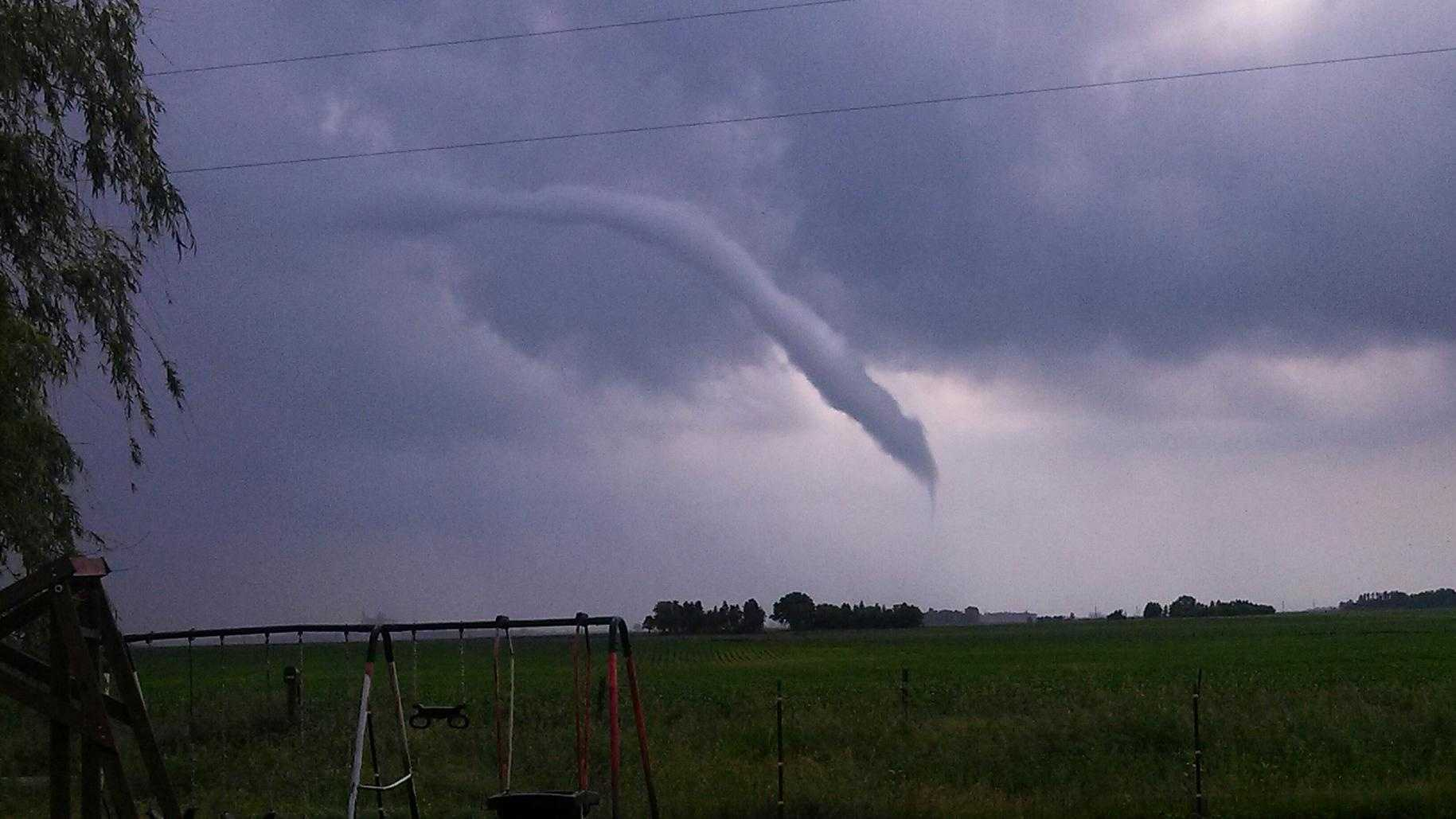 North of Vincent, Iowa.