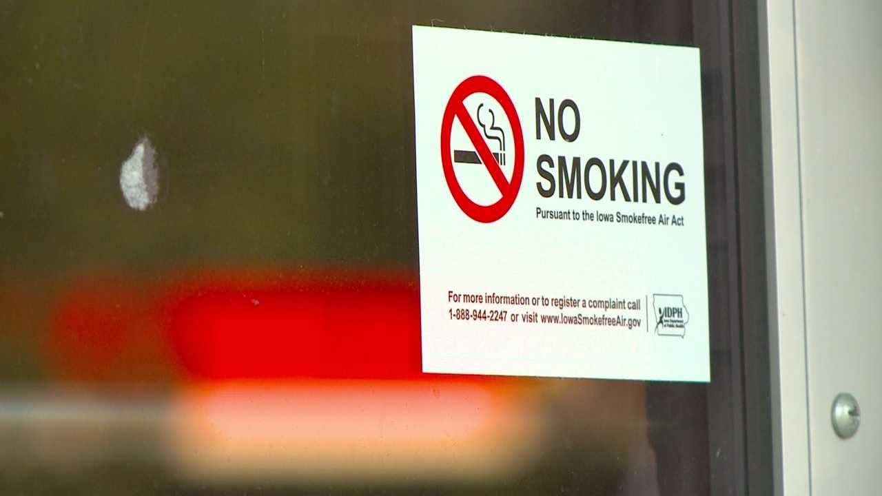 Five years ago Monday, the state of Iowa went smoke free.