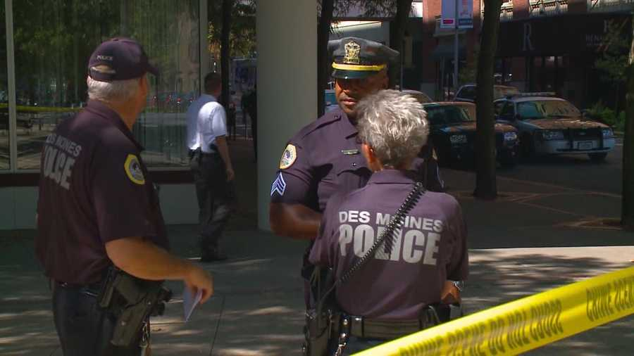 Police said two recent crimes in downtown Des Moines are not a sign of a larger problem.