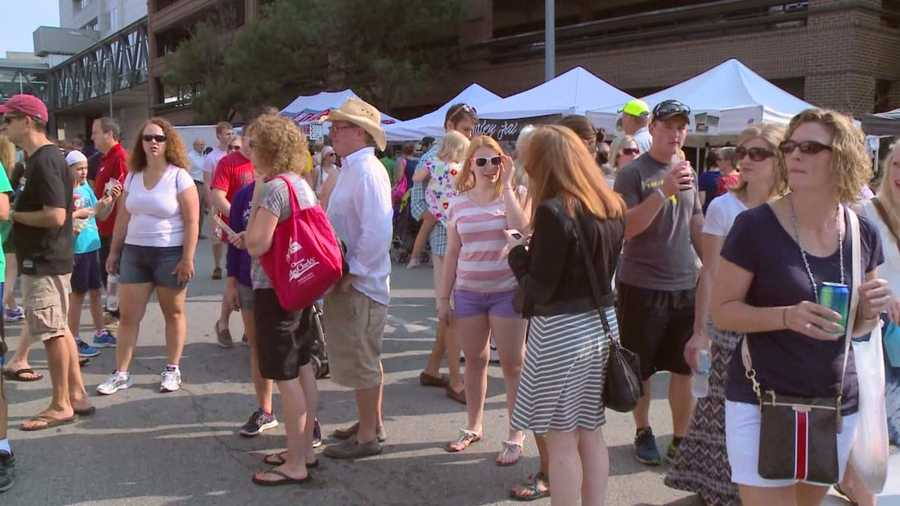 A popular vendor at the Downtown Farmers' Market has been suspended due to issues from a weather-related delay of the market earlier in July.