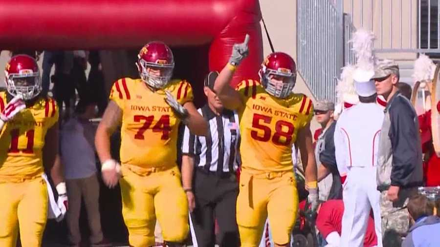 The heart of ISU's defense is living out his dreams in Ames.