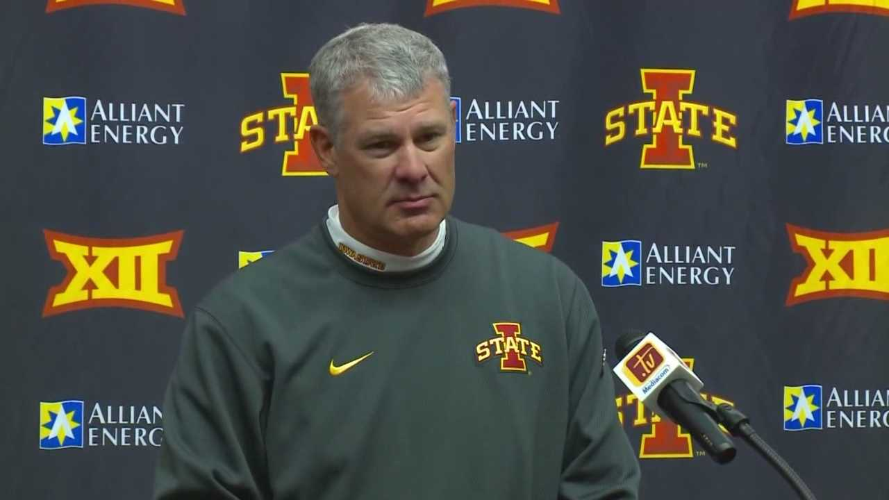 The Cyclones were left searching for answers Saturday