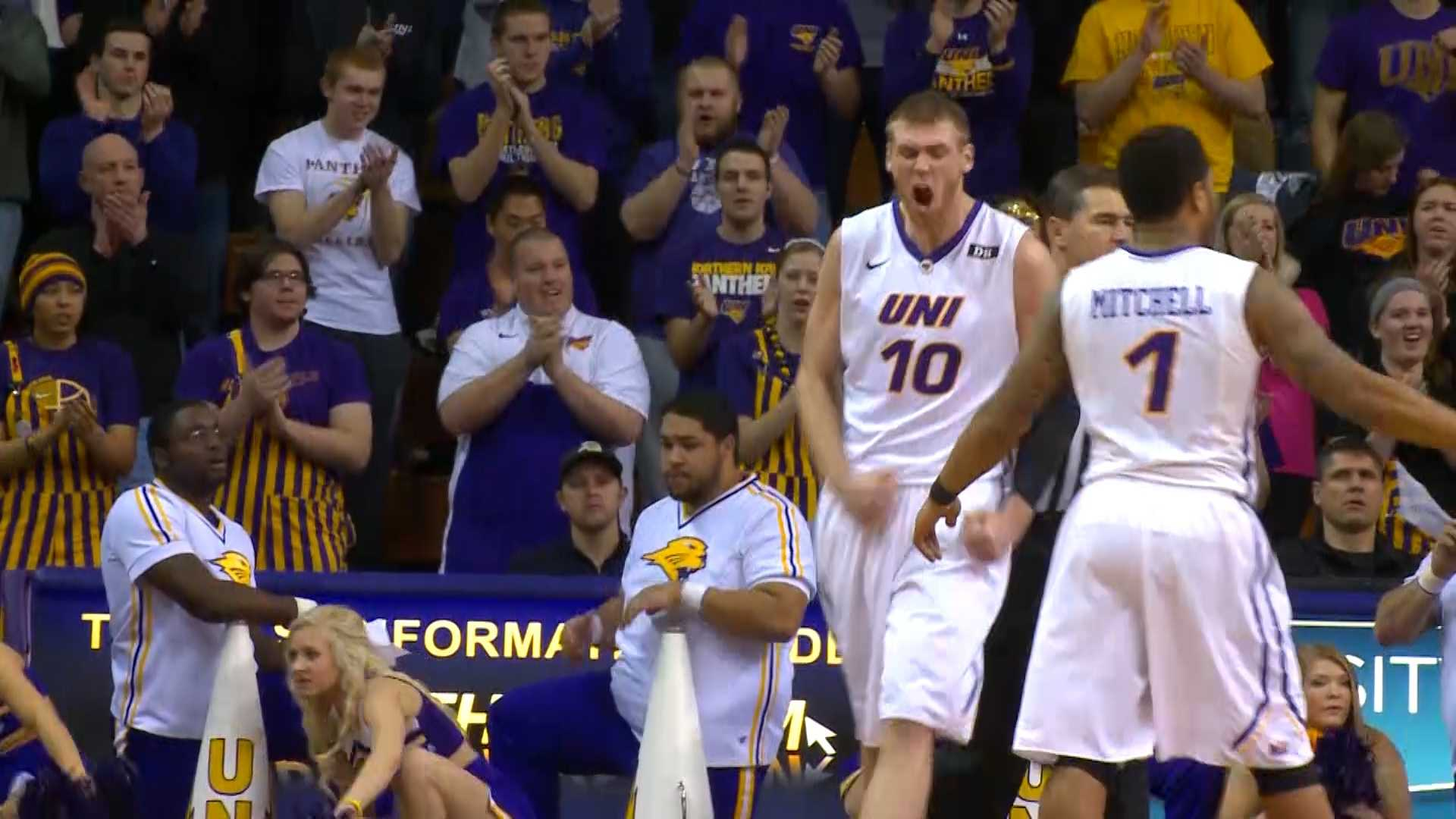UNI senior Seth Tuttle