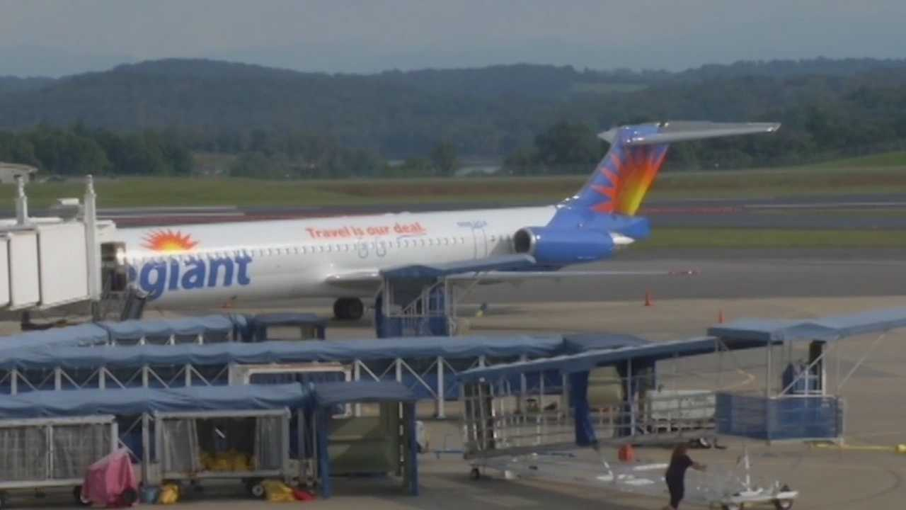 Last year 182,000 Iowans flew on Allegiant Air from the Des Moines International Airport.