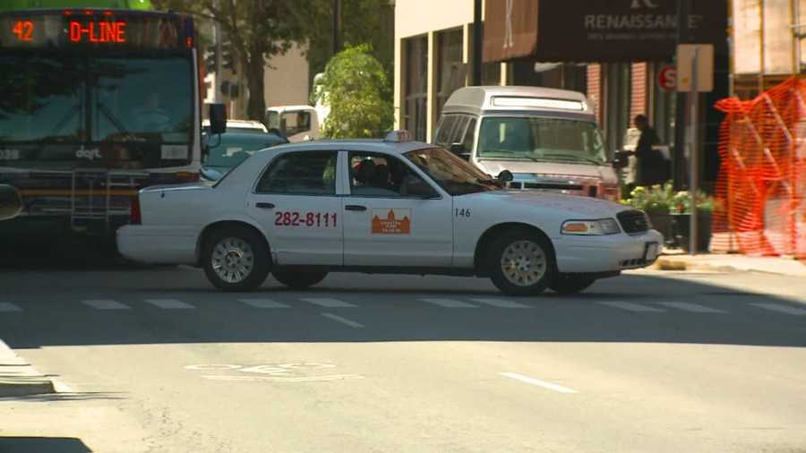 Four Des Moines city cab drivers were robbed in just two weeks, according to police.