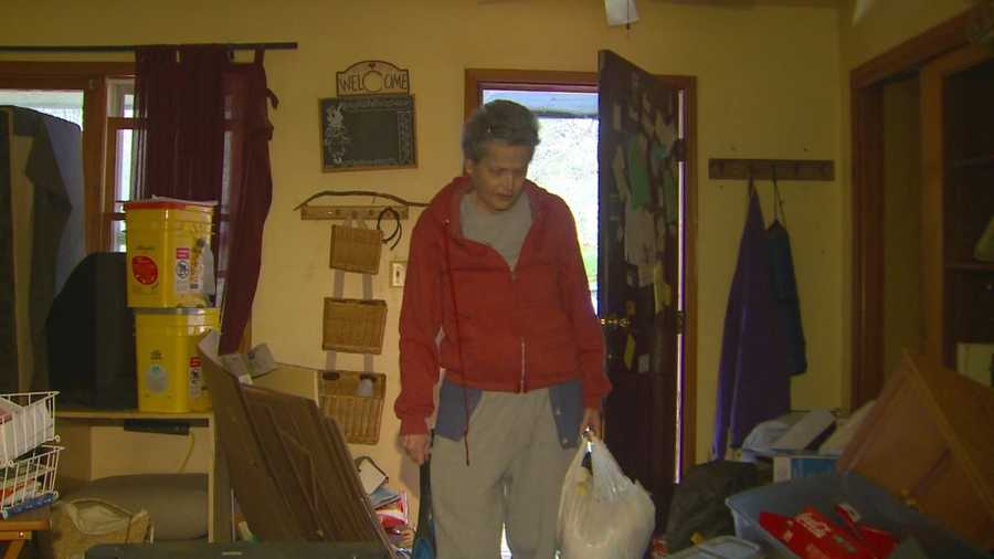 The woman says the burglary makes what she is going through even worse.