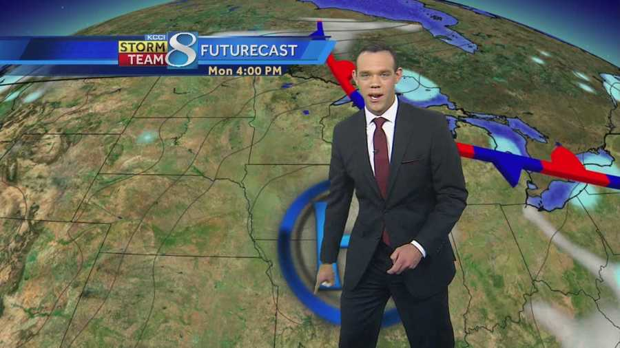 Videocast: Meteorologist Frank Scaglione's forecast for central Iowa