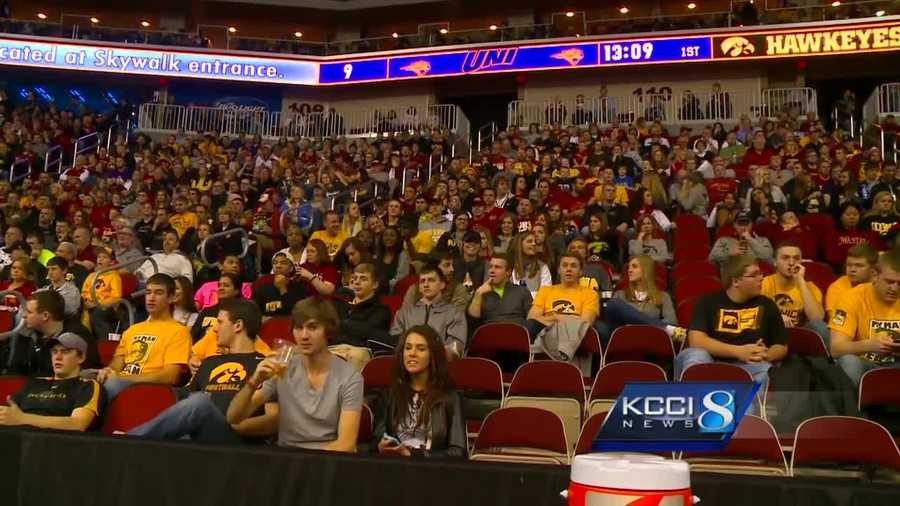 Raised security efforts are underway at the Iowa Events Center.