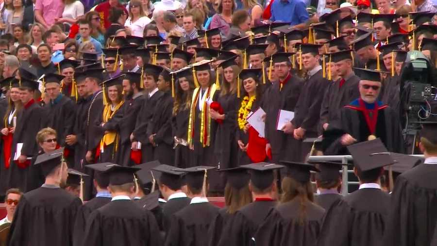 More than 4,600 students graduated from Iowa State University Saturday. Video by KCCI Photojournalist Adam Brower,