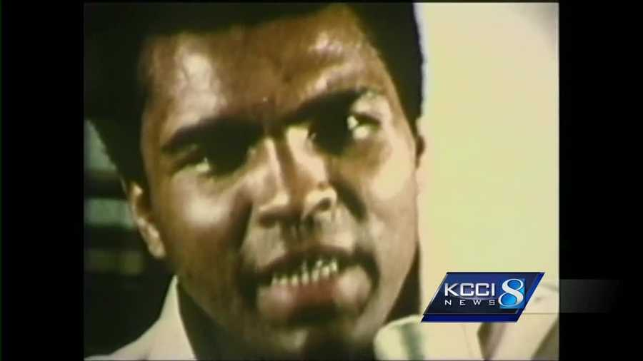 Late Boxer Muhammad Ali Has Some Iowa Connections