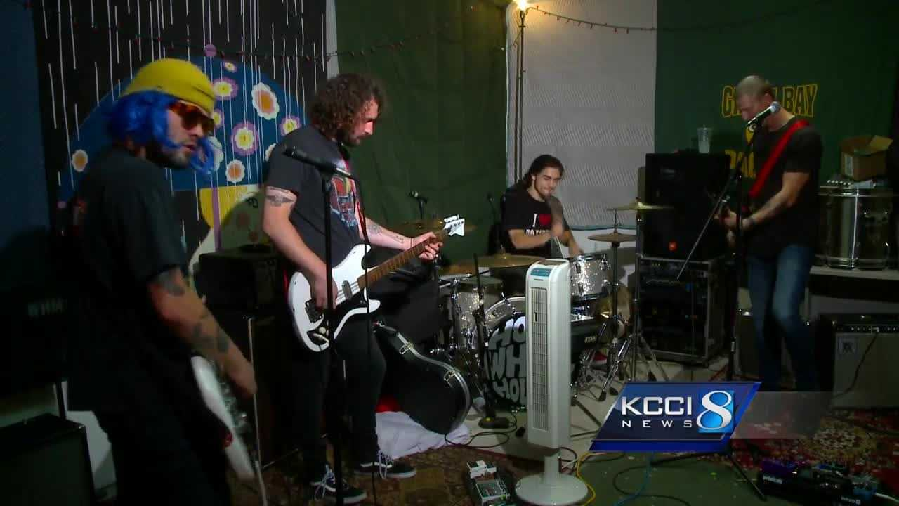 A local rock band makes a grand homecoming after a months-long nationwide tour.