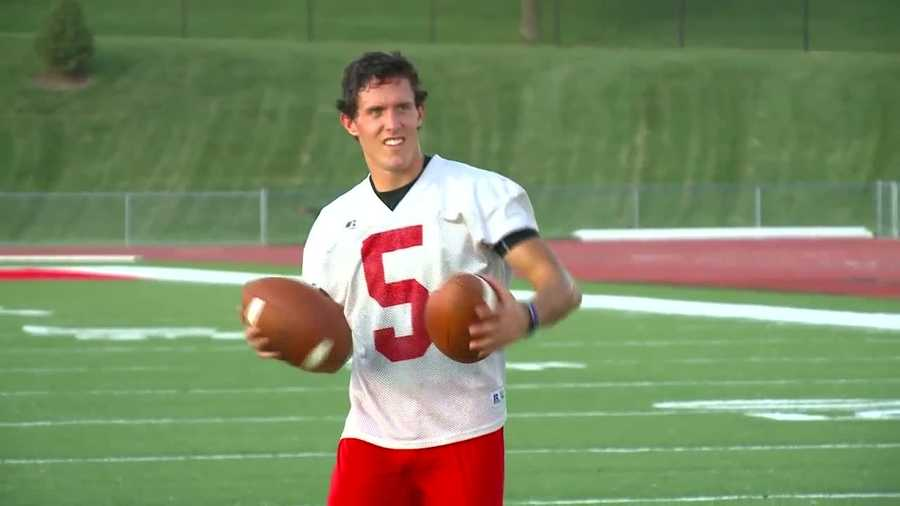 Central's Sam Markham wasn't ready to give up on football.