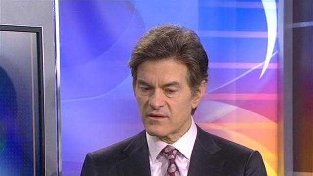 Dr. Oz: In the KCRA studio answering some viewer questions.