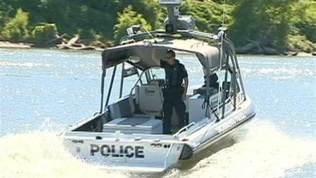 Sacramento police boat patrols saturate rivers to educate boaters on the rules of the waterways before there are any problems.