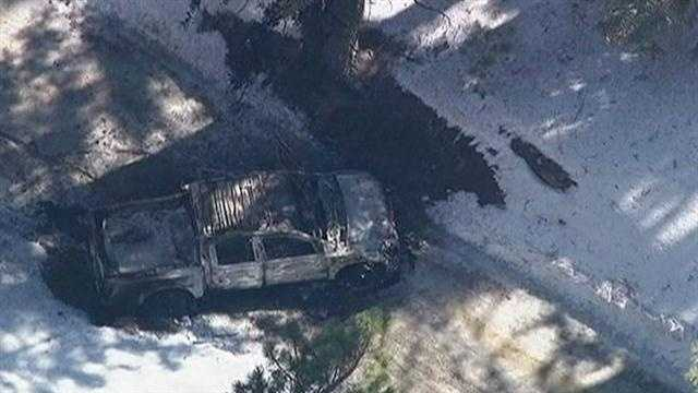 L.A.P.D. searched for former officer Christopher Dorner near Big Bear Ski Resort where they found Dorner's burned out truck.