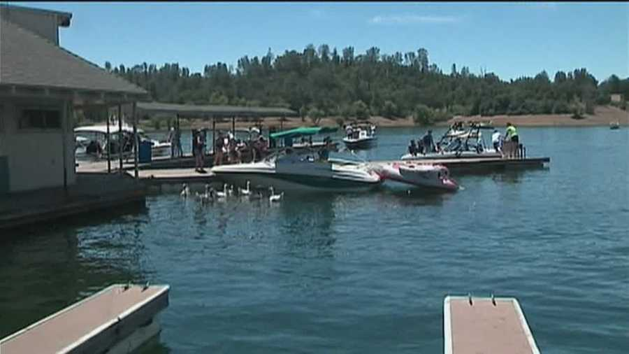 With national H1 races set to run on Folsom Lake, many boaters were surprised to find the area open to the public was not very crowded.