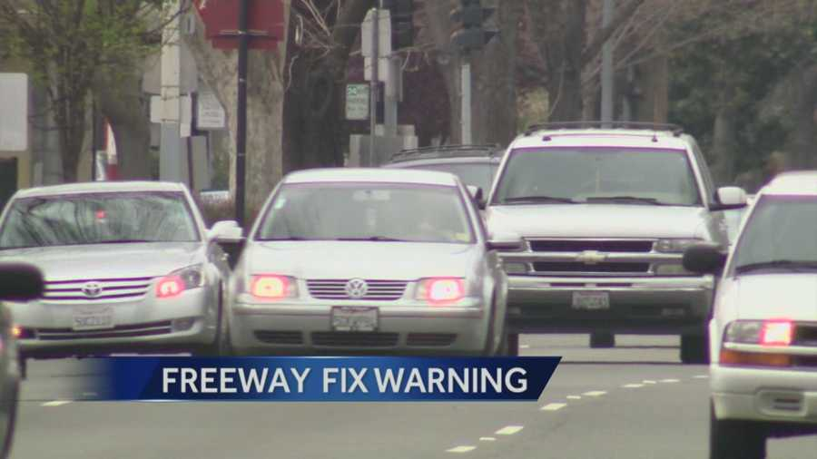 Repairs on Highway 50 between I-5 and Highway 99 is expected to cause traffic tie ups in multiple areas.