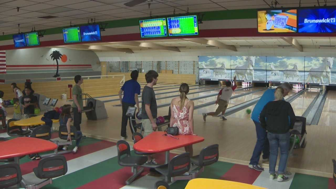 After being closed for two years, Woodland's only bowling alley reopened after being completely renovated.