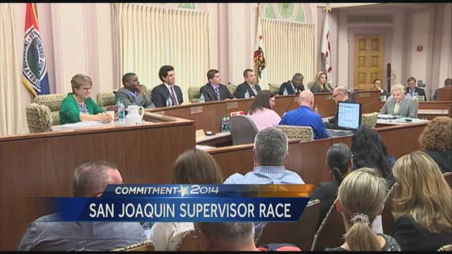 Two Stockton City Council members are vying for the seat on the San Joaquin County Board of Supervisors.