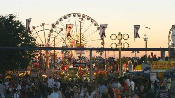 11. Taking in the lights, sounds and fun at the California State Fair, which takes place in July at Cal Expo.