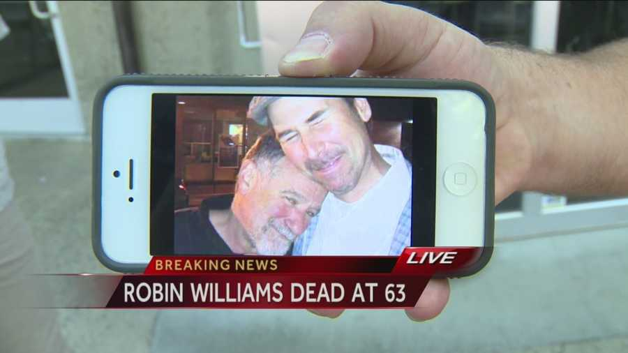 Keith Lowell Jensen, a Sacramento-area comic, shares his reaction to the death of actor and comedian Robin Williams.