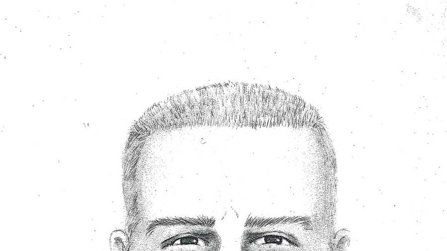 A sketch of the shooter (October 2014).