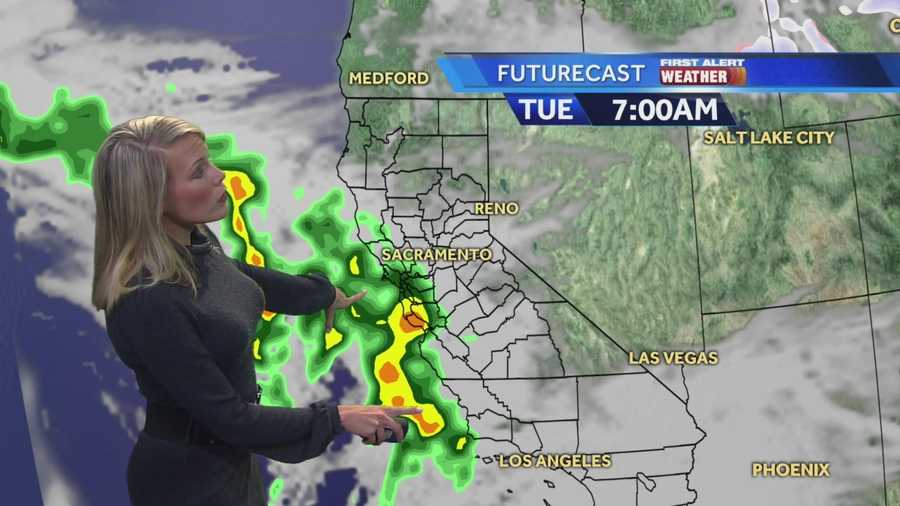 KCRA 3 First Alert Meteorologist Tamara Berg shows when to expect the next round of rain.