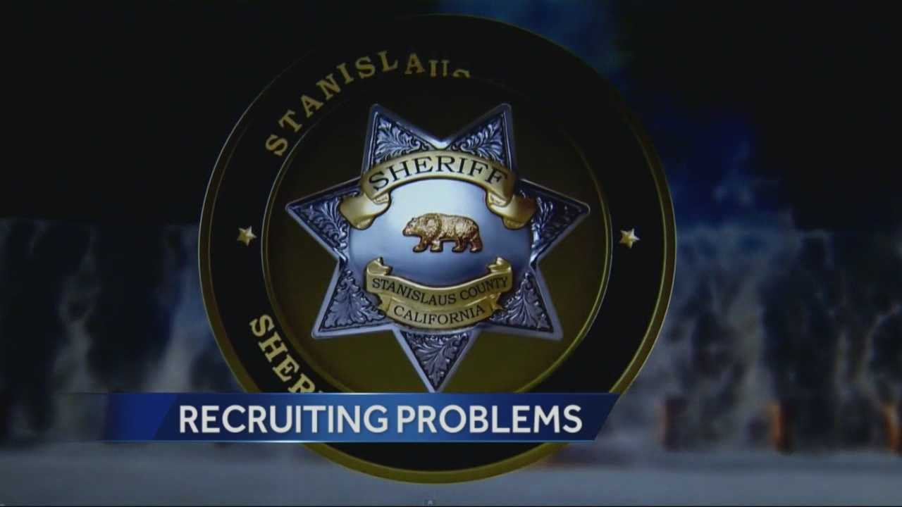 The Stanislaus Sheriffs office is using social media to try and improve public perception and interest recruits.