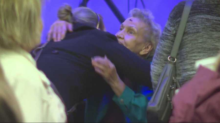 Community members are calling this an 'act of evil'. An elderly couple attacked in their own home, leaving a WWII veteran in serious condition. The couple was attacked in their El Dorado County home in Diamond Springs. KCRA 3' Tom DuHain was at the service held by the couple's church attended by one of the victims.