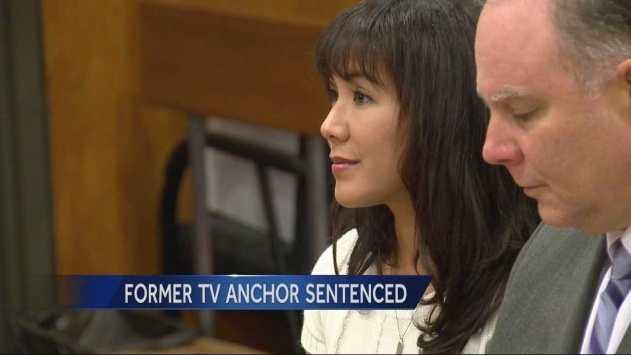 Former Fox40 news anchor Sabrina Rodriguez pleaded no contest Friday in the thefts of several Coach wallets and was ordered to serve time in county jail.