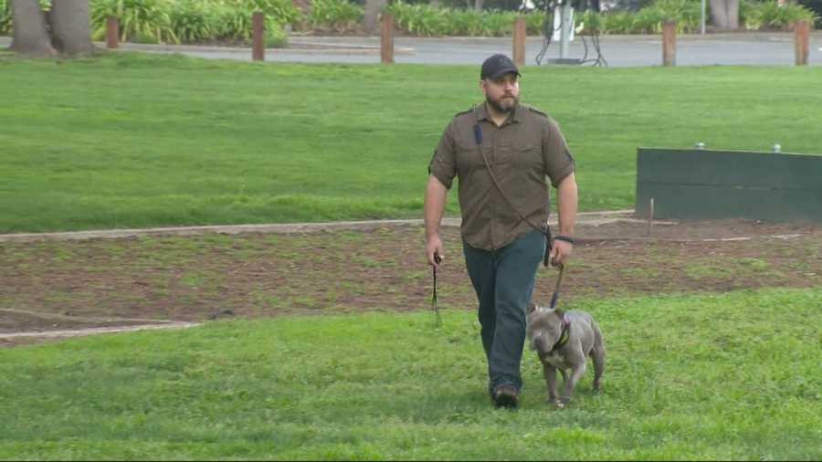 Joe Rangel is a former police officer with the Citrus Heights Police Department. He went to Fanny Ann's in Old Sacramento with a friend, but was asked to leave when he couldn't provide proof his dog was a service animal.
