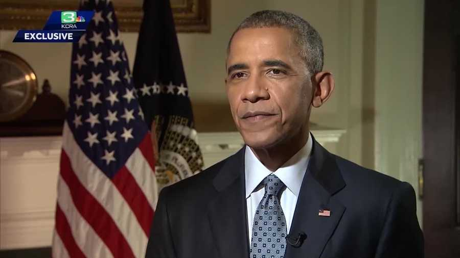 Obama on trade agreement: 'We have to look to the future'; Watch Edie's full interview with president on app