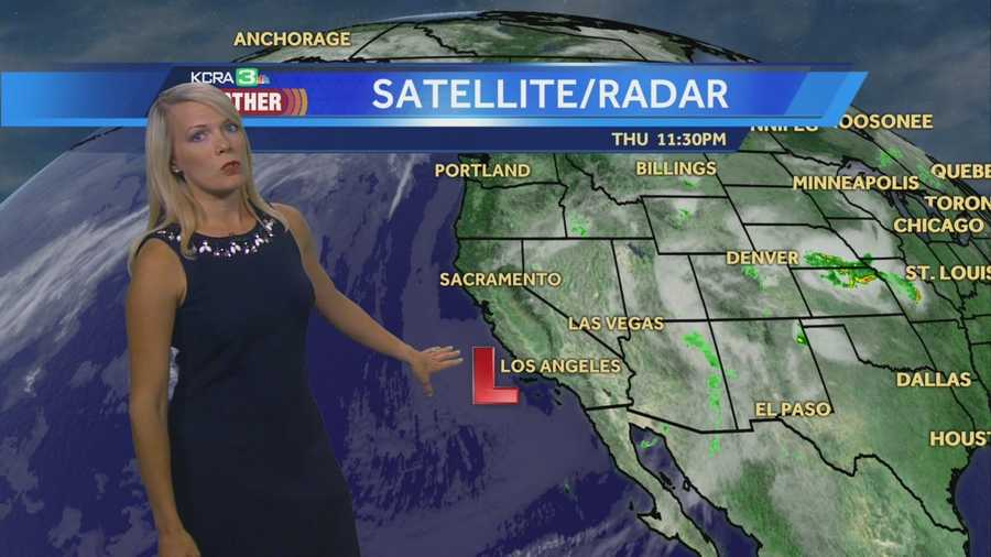 KCRA 3 Meteorologist Tamara Berg shows us where afternoon thunderstorms will develop.