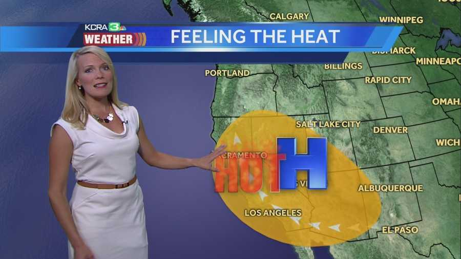 Warming trend continues. Tamara takes us through the timing of the heat.