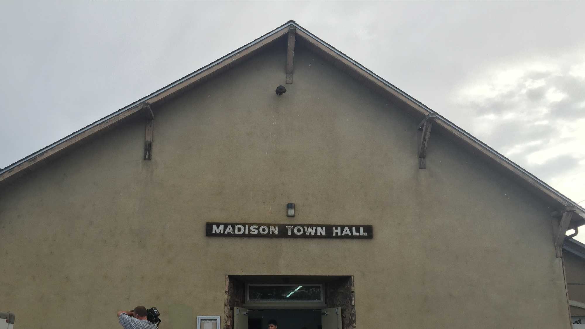 A girl's 15th birthday party at the Madison Town Hall ended early Saturday, Oct. 18, 2015, when a 18-year-old suspect stabbed six people at the party, the Yolo County Sheriff's Office said.