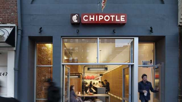 A file photo of a Chipotle location.