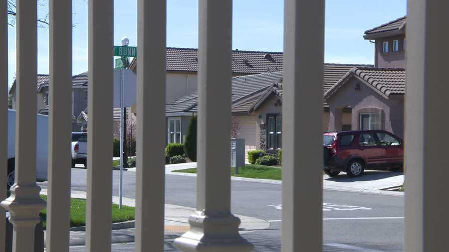 Roseville police say one of their police dogs got loose and entered a family's home in this gated community last Thursday.
