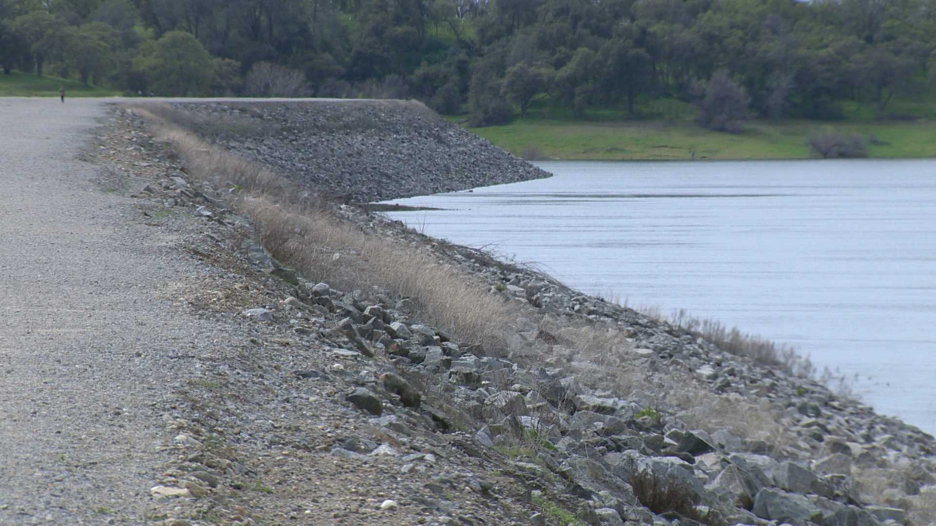 Mormon Island Auxiliary Dam protects hundreds of homes in the city of Folsom.