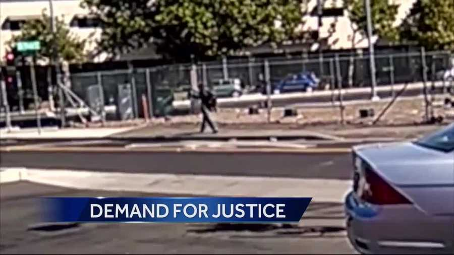 The family of Joseph Mann, who was shot and killed by Sacramento police, continue to place pressure on the Sacramento County District Attorney's Office to file charges against the officers who shot Mann.