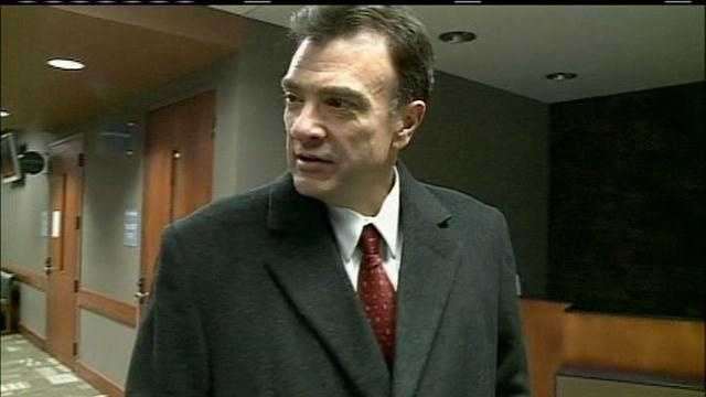 The trial of Bellevue's former police chief on a gun charge began on Wednesday.