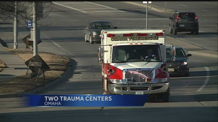 Nebraska Medical Center on Wednesday said it's ending the practice of sharing trauma service responsibility with Alegent Creighton Health Creighton University Medical Center.